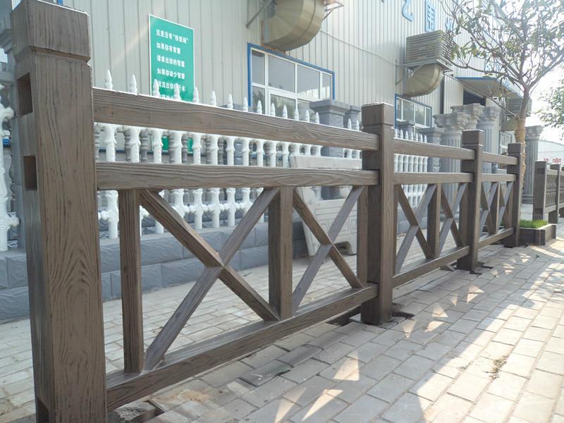 仿木护栏mx型
